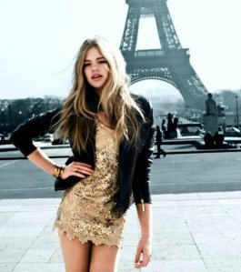 dress-gold-paris-women-Favim.com-500606